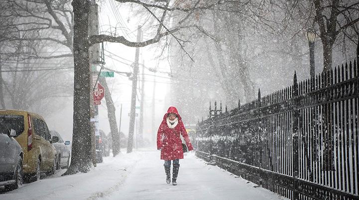 متى سوف ينزل الثلج في اسطنبول