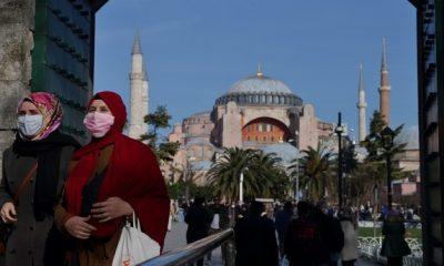 مسجد ايا صوفيا في اسطنبول