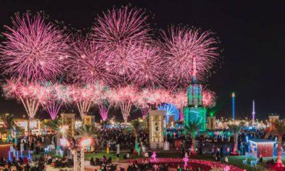 الإمارات تستقبل العام الجديد 2021 بعروض نارية ضخمة (شاهد)