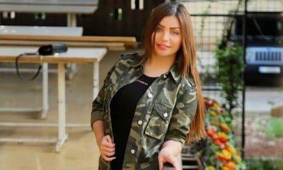 عارضة الأزياء اللبنانية زينة كنجو