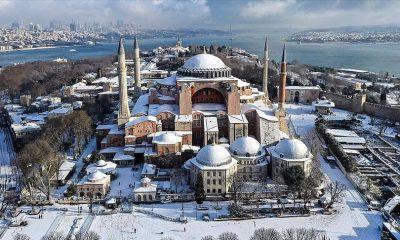 موسم الثلوج في إسطنبول 2021