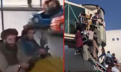 الفوضى في زاوية، والمرح في الزاوية الأخرى! مقاتلو طالبان يلعبون لعبة تصادم السيارات.. فيديو